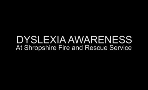 SFRS dyslexia awareness film