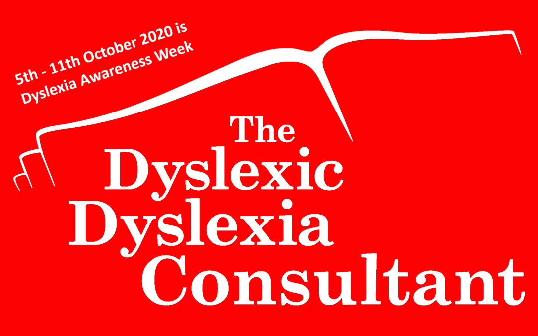 Day 1 of Elizabeth's Inspirational Dyslexics for 2020 Dyslexia Awareness Week